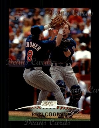 1999 Topps Stadium Club #134  Ron Coomer