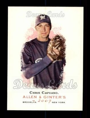 2007 Topps Allen & Ginter #283  Chris Capuano