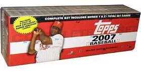 2007 Topps     Baseball Complete Factory Sealed Retail Set