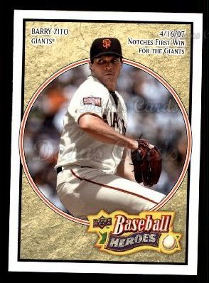 2008 Upper Deck Heroes #148  Barry Zito