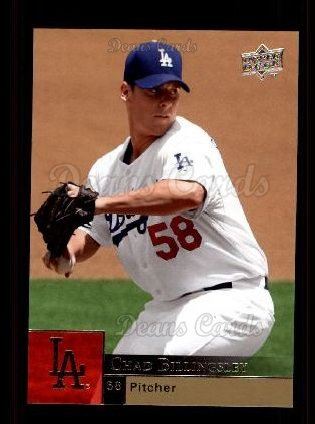 2009 Upper Deck #709  Chad Billingsley