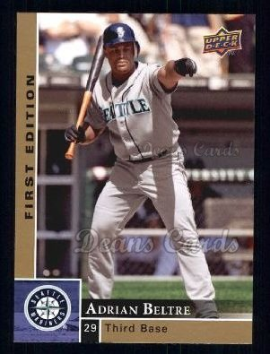 2009 Upper Deck First Edition #260  Adrian Beltre