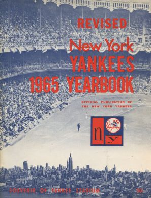 1965 New York Yankees Yearbook - Revised