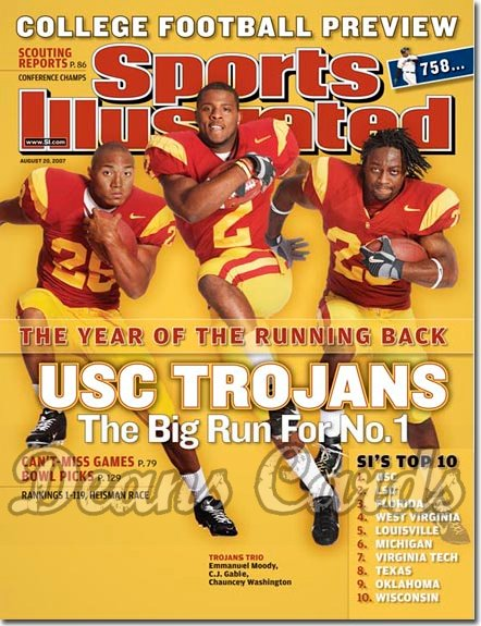 2007 Sports Illustrated - With Label   August 20  -  Emmanuel Moody