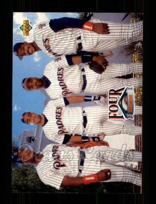 1993 Upper Deck #474  Gary Sheffield / Phil Plantier / Tony Gwynn / Fred McGriff