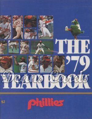 1979 Philadelphia Yearbook - Schmidt/Rose/Carlton