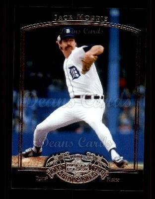 2005 Upper Deck Past Time Pennants #39  Jack Morris