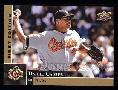 2009 Upper Deck First Edition #31  Daniel Cabrera