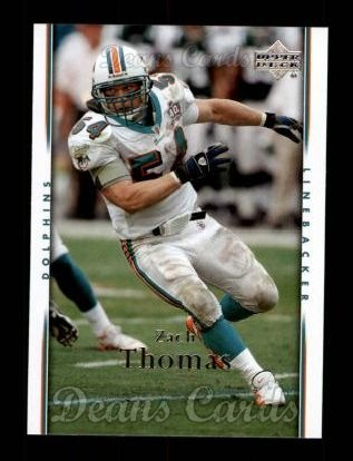 2007 Upper Deck #97  Zach Thomas