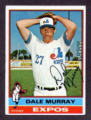 1976 Topps #18  Dale Murray