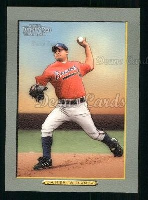 2005 Topps Turkey Red #297  Chuck James