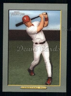2005 Topps Turkey Red #183  Mike Lieberthal