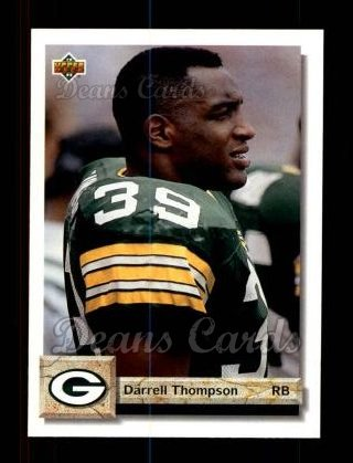 1992 Upper Deck #297  Darrell Thompson