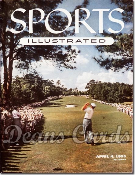 1955 Sports Illustrated   April 4  -  Ben Hogan