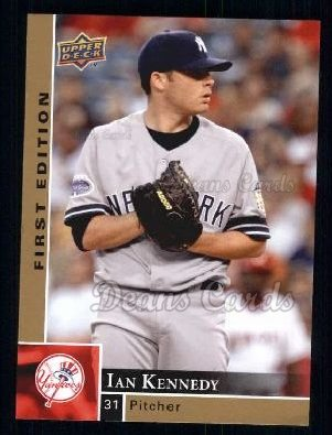 2009 Upper Deck First Edition #209  Ian Kennedy
