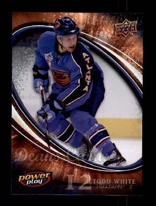 2008 Upper Deck Power Play #13  Todd White