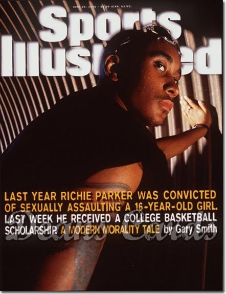 1996 Sports Illustrated - With Label   June 24  -  Richie Parker