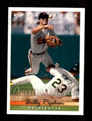 1993 Upper Deck #181  Billy Ripken