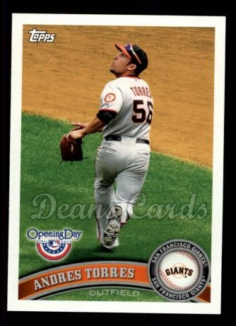 2011 Topps Opening Day #91  Andres Torres