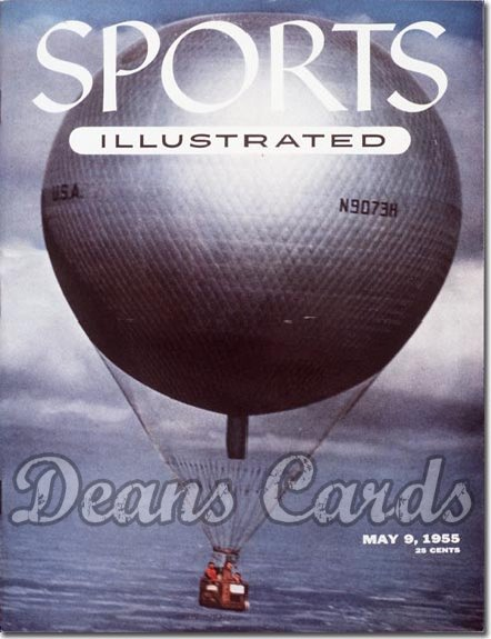 1955 Sports Illustrated   May 9  -  Ballooning