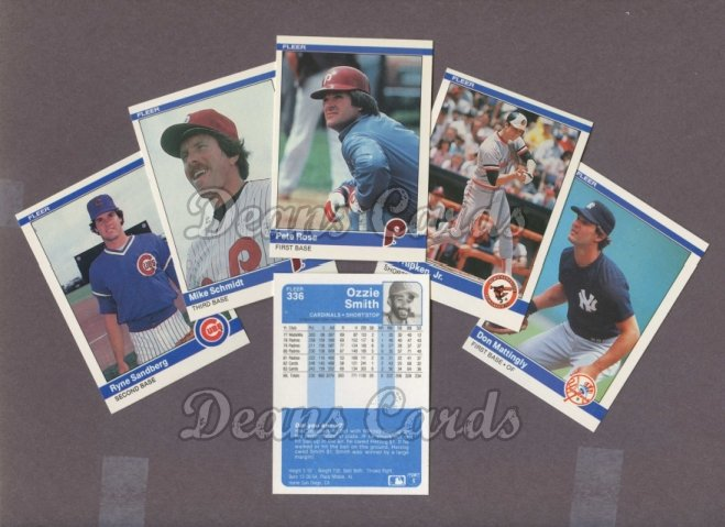 1984 Fleer     Baseball Complete Set