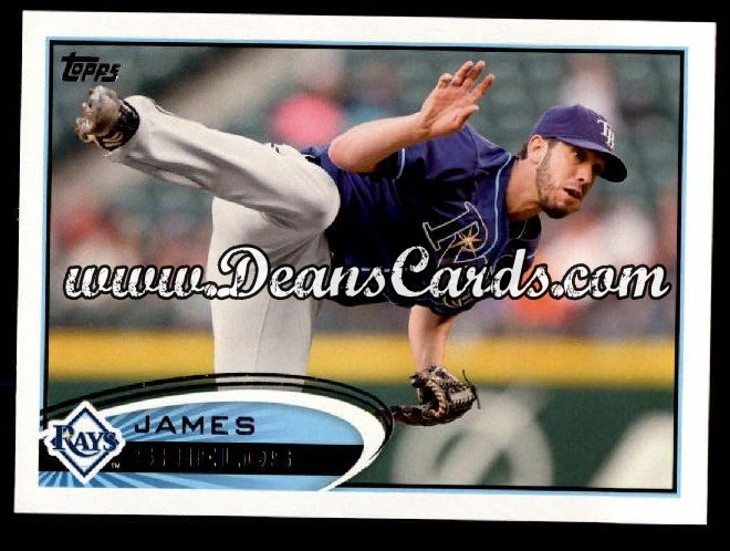 2012 Topps #471  James Shields