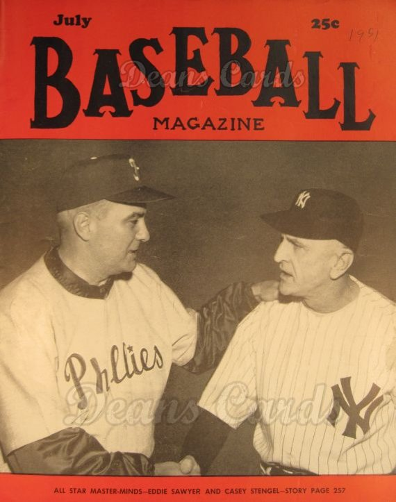 1951 Baseball Magazine    July