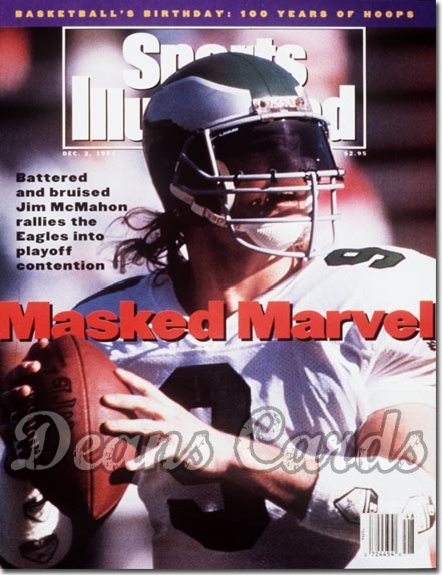 1991 Sports Illustrated - No Label   December 2  -  Jim McMahon (Philadelphia Eagles)