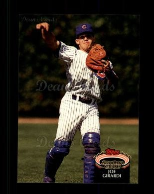 1992 Topps Stadium Club #132  Joe Girardi