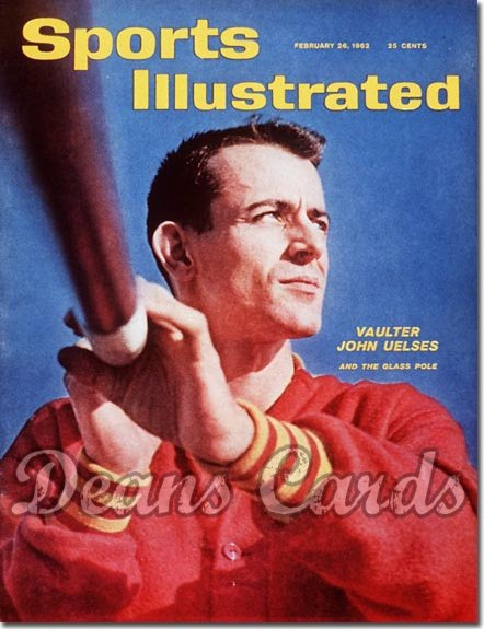 1962 Sports Illustrated - With Label   February 26  -  John Uelses Pole Vaulter