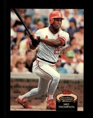 1992 Topps Stadium Club #447  Milt Thompson