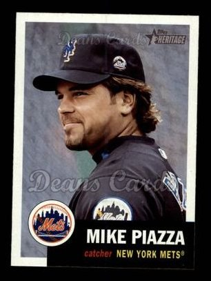 2002 Topps Heritage #371  Mike Piazza