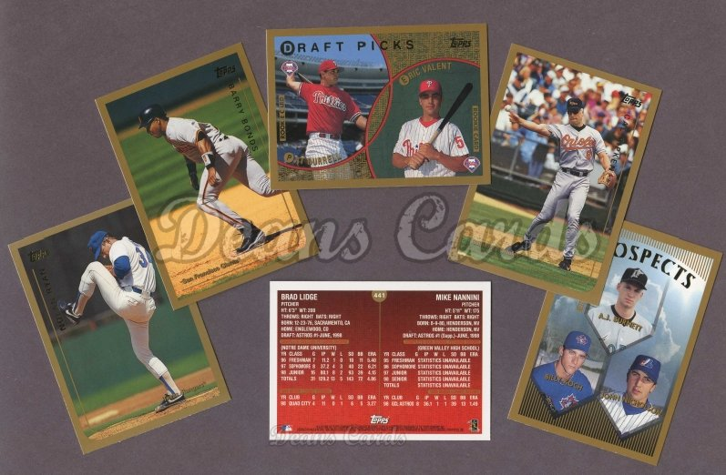 1999 Topps     Baseball Factory Sealed Complete Set