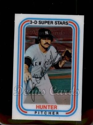 1976 Kelloggs #5  Catfish Hunter