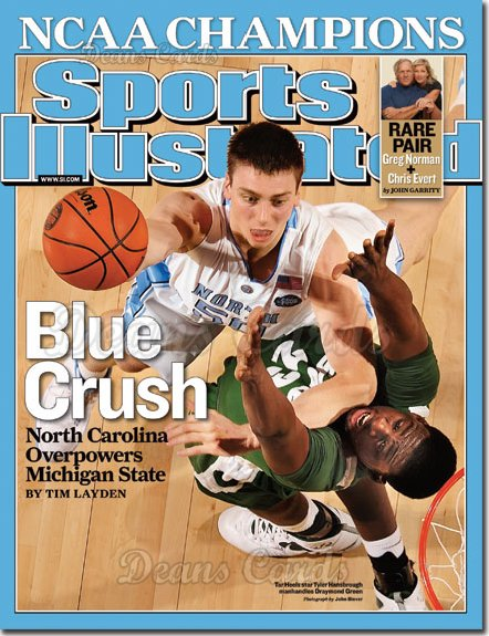 2009 Sports Illustrated - With Label   April 13  -  NCAA Championship NC over Michigan State