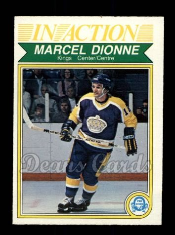 1982 O-Pee-Chee #153   -  Marcel Dionne In-Action