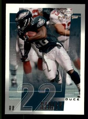 2001 Upper Deck MVP #198  Duce Staley