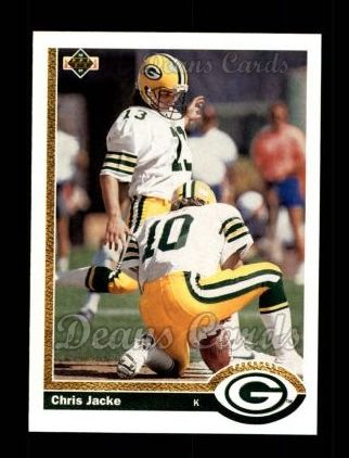 1991 Upper Deck #577  Chris Jacke