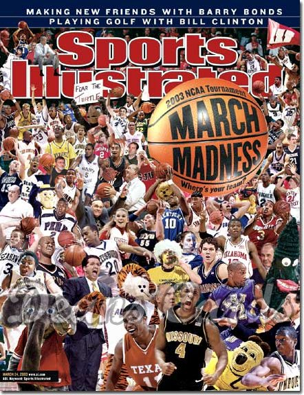 2003 Sports Illustrated   March 24  -  March Madness