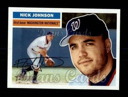 2005 Topps Heritage #183  Nick Johnson