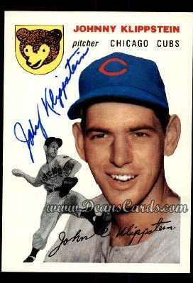 1994 Topps 1954 Archives #31  Johnny Klippstein