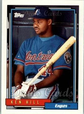 1992 Topps Traded #51 T Ken Hill