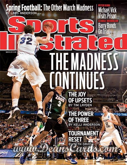 2011 Sports Illustrated   March 28  -  Jimmer Fredette / BYU / Sweet Sixteen
