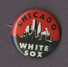 1961 Cranes Potato Chip Pin #4   Chicago White Sox