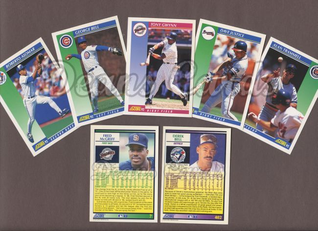 1992 Score     Baseball Collector Set