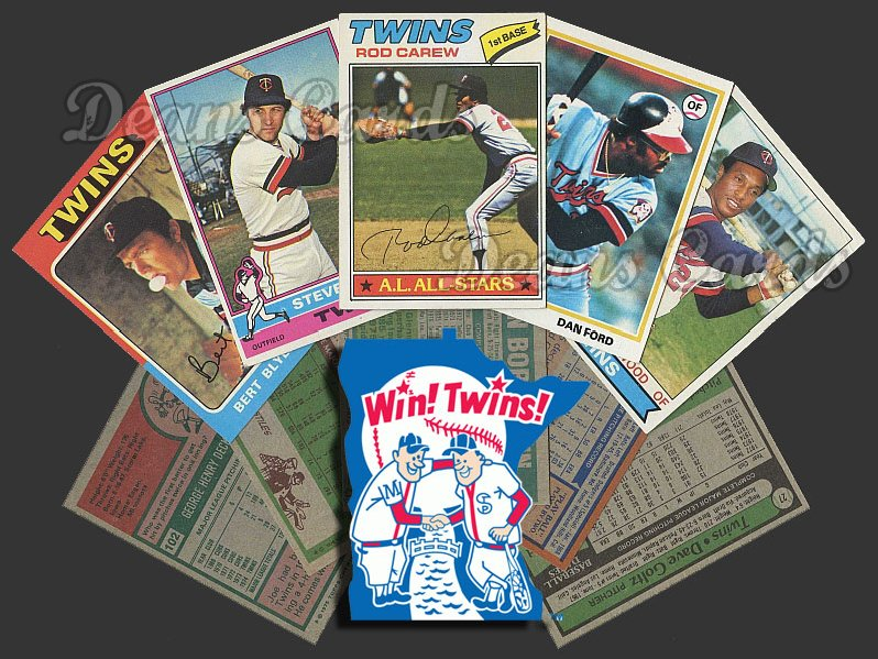1975 Topps   -79  Minnesota Twins Team Starter Set / Lot - Md