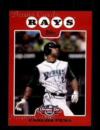 2008 Topps Opening Day #167  Carlos Pena