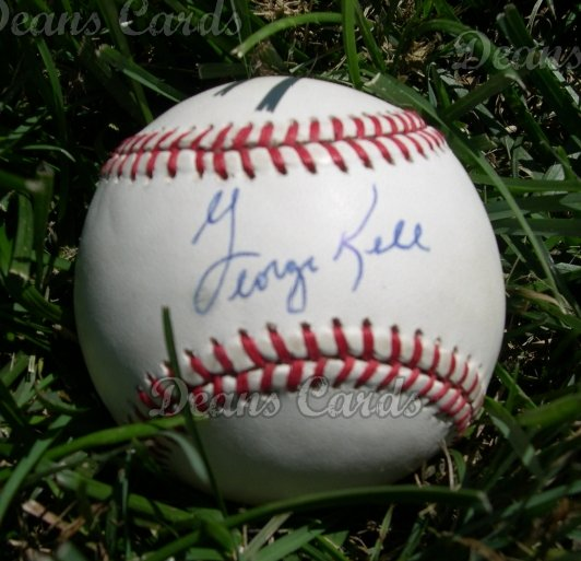 George Kell Autographed Ball - Died:1984