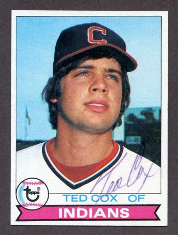 1979 Topps #79  Ted Cox