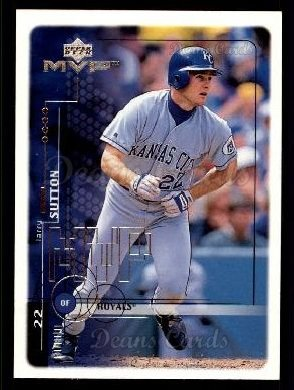 1999 Upper Deck MVP #100  Larry Sutton